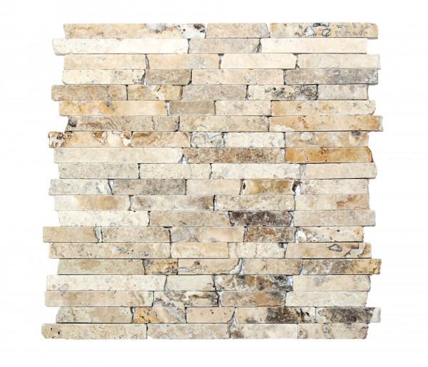 Mosaik Travertin 30,5x30,5x1 cm