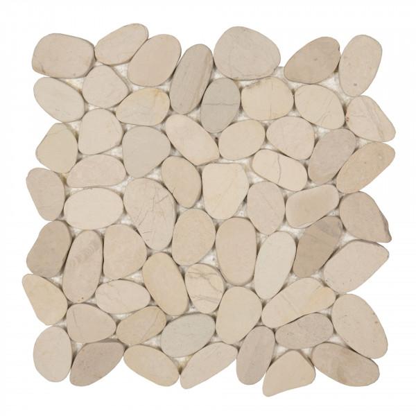 Mosaik Sassi white 30x30 cm
