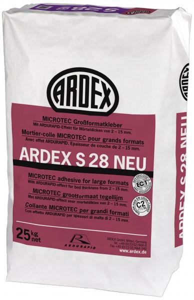 Ardex S28 Microtec Großformatkleber 25kg