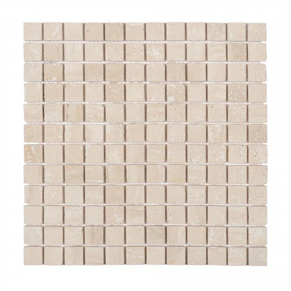 Mosaik Travertin Chiaro 30x30 cm