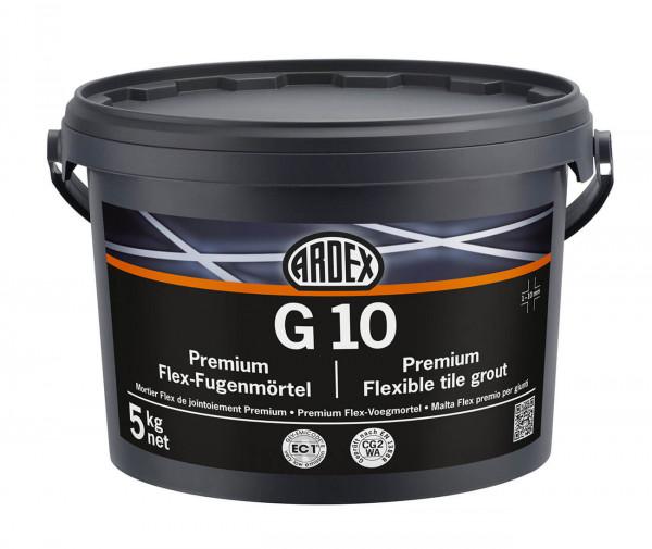 Ardex G10 Premium Flex-Fugenmörtel Sandgrau 5kg