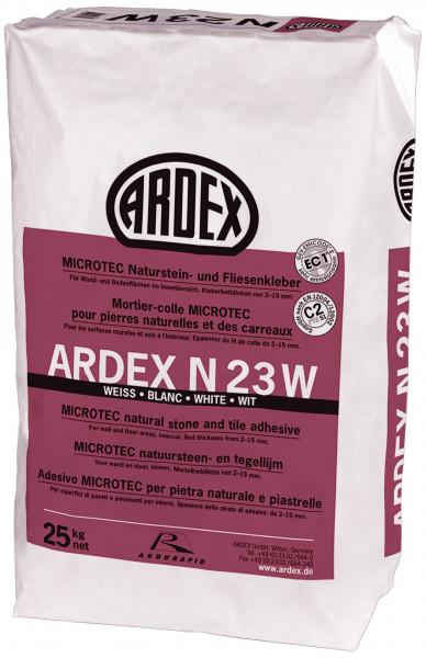 Ardex N23W Microtec Naturstein-und Fliesenkleber weiß 25kg