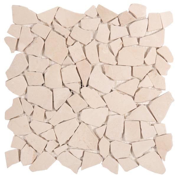 Palladiana auf Netz cream 30x30 cm
