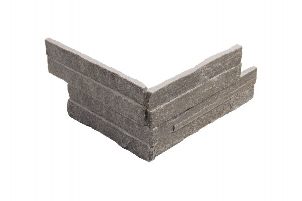 Minibrick Ecke grey 10x20/20 cm