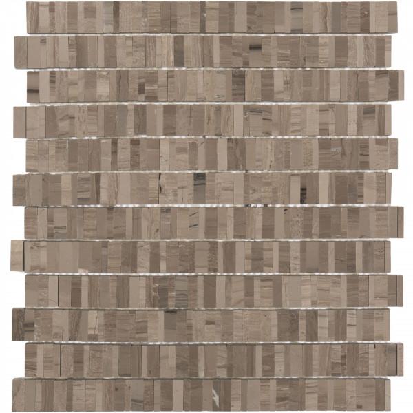 Mosaik Wood stripes 30x32,5 cm