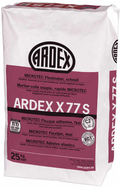 Ardex X77S Microtec Flexkleber AMF flexibel 25kg