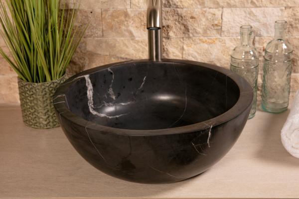 Becken Matilda nero 40x15 cm