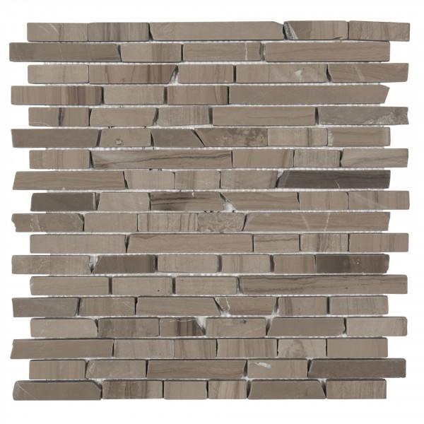 Mosaik Wood dark 30x30 cm