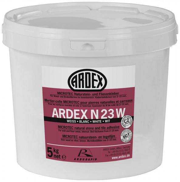 Ardex N23W Microtec NEU weiß Naturstein-und Fliesenkleber 5kg