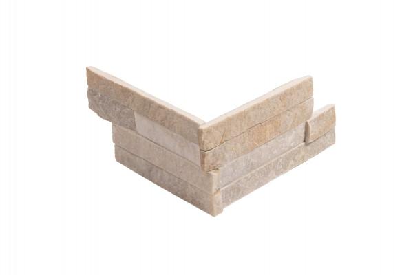 Minibrick Ecke beige 10x20/20 cm